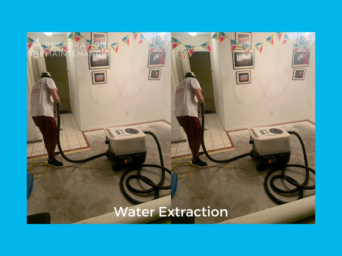 RestoMain Water Extraction